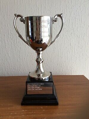 Silver Plate Trophy Cup - superb condition! A pleasure to handle...