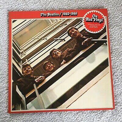 The Beatles-1962 - 1966 -Red Vinyl- Fantastic condition +Inner's - Original LP