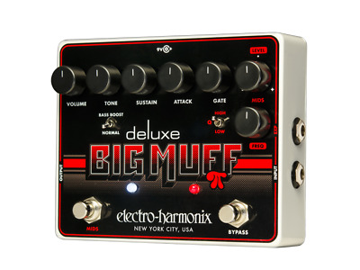 EHX Electro-Harmonix Deluxe Big Muff Pi Distortion Guitar Effects Pedal