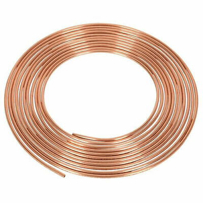 "25ft 10mm (3/16"") Copper Brake Pipe WORKSHOPPLUS FREE DELIVERY"