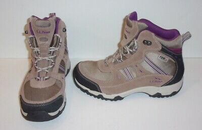 bcdda30068e LL BEAN WATERPROOF Hiking Trail Boots Women's Size 7 M Tan Duck ...