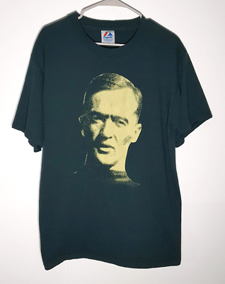 George Gipp Notre Dame T-Shirt by Majestic   Gipper Knute Rockne   Mens Large