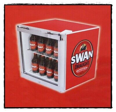Swan Draught Schmick Glass Door Bar Fridge Tropical Mini 50L Footy Finals Promo