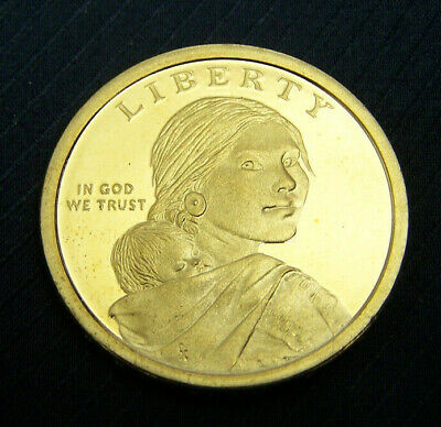 Proof 2011-S Sacagawea Native American Golden Dollar Coin Free Ship