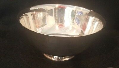 Reed and Barton Silver Paul Revere Bowl 8 inch Vintage