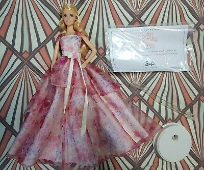 Barbie Collector 2014 Birthday Wishes