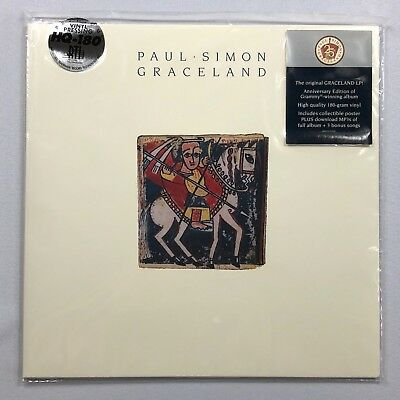Paul Simon Graceland Vinyl NEW BJ