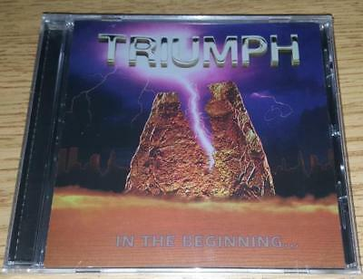 "TRIUMPH  ""In The Beginning"" Debut Release   NEW   (CD, 1976/2017)"