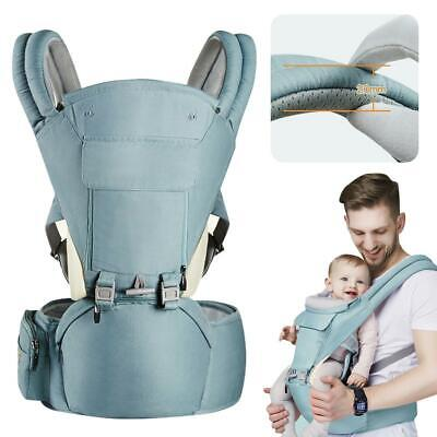 cab085208be Infant Baby Carrier Wrap Sling Newborn Backpack Waist Stool Strap with  Sunshade