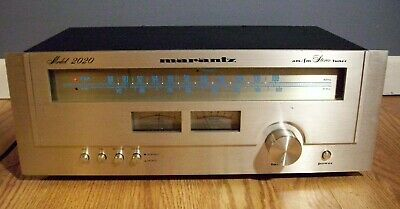 Marantz AM/FM Stereo Tuner Model 2020 Tested and Works Great