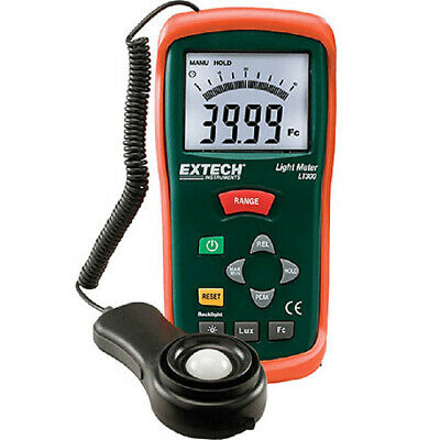 Extech LT300 Light Meter with Digital and Analog Display