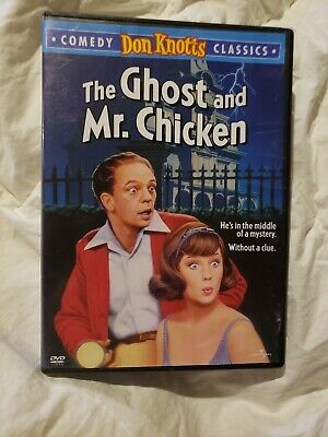 THE GHOST AND MR. CHICKEN DVD Don Knots Comedy!