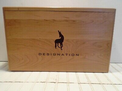 Finished Wood Wine Box - Designation Anomaly Vineyards