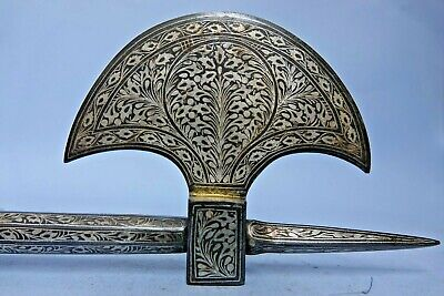 Very Decorative Persian Islamic Middle Eastern Axe Amazing Decoration Very Rare