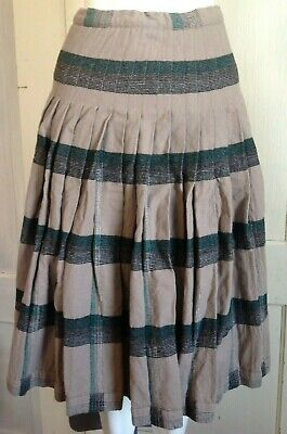 6c6880fb8 VTG Pendleton Women's Plaid Reversible Turnabout Wool Pleated Skirt cutter