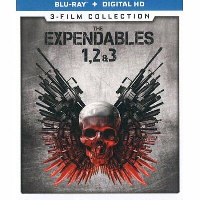 The Expendables 1, 2 & 3: 3-Film Collection (Blu-ray) Brand New, Fast Shipping!