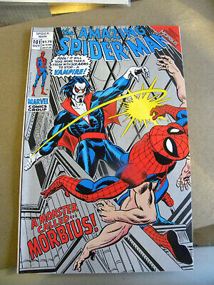 Marvel 1992 THE AMAZING SPIDER-MAN #101 2nd Silver Printing 1st MORBIUS Leto