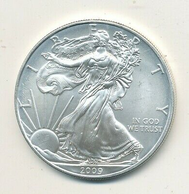 2009 American Silver Eagle 1 Oz Coin Exact Shown