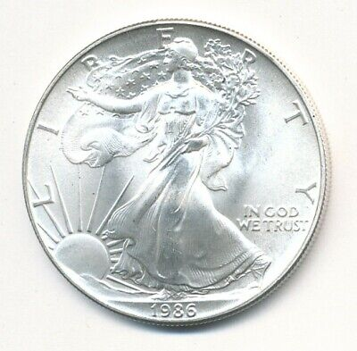 1986 American Silver Eagle 1 Oz Coin Exact Shown