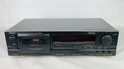 Denon DRM-740 Audio Component Cassette Tape Deck 3 Head, Free Shipping!
