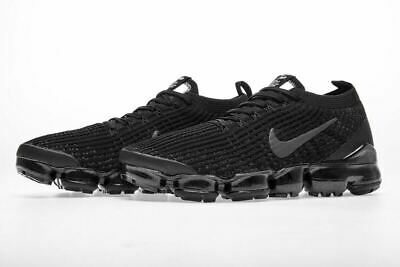 NIKE AIR VaporMax Flyknit 3 2019 MEN (Black) Running Trainers Shoes