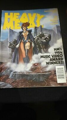 Heavy Metal - September 1984