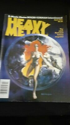 Heavy Metal - April, 1984