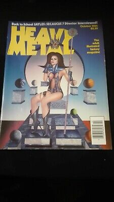 Heavy Metal - October, 1984