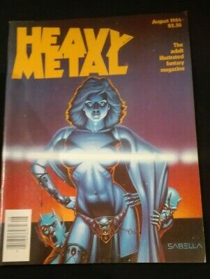 Heavy Metal - August, 1984