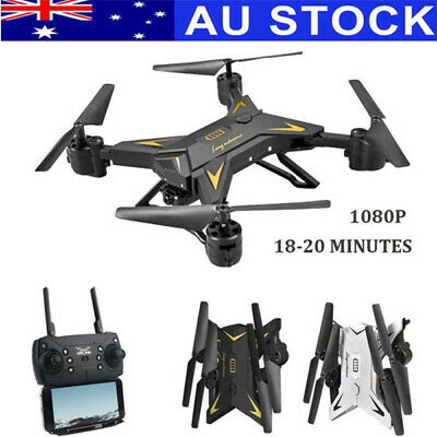 2.4G RC Quadcopter Drone Altitude Hold Hover Headless Gyro WiFI W/ Camera/Remote