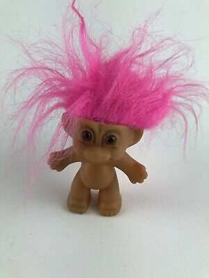 🔴 Vintage Russ Pink Hair Troll Trolls Doll Collectible Small Gift For Him Her