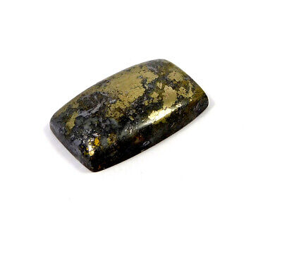 66 Cts. 100% Natural Pyrite Loose Cabochon Gemstone UNG19507