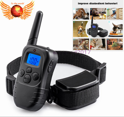 Dog Shock Collar Wiz Remote Waterproof Electric For Large Pet Training S M L XL