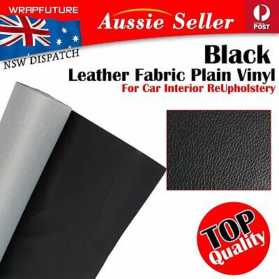 Faux Synthetic Leather Vinyl Fabric Waterproof Automotive Upholstery 1.4M x 3.5M