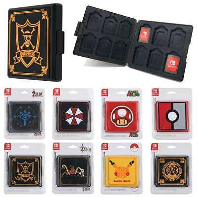 Game Card Case Holder Storage Travel Carry Protector Cover For Nintendo Switch