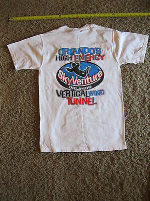 Vintage Skyventure Orlando (now ifly) t-shirt  size small