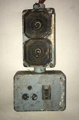Vintage Factory Industrial Light Switch