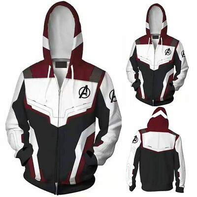 Avengers Sweatshirt Jacket Advanced Tech Superhero Hoodie Cosplay Costume Unisex