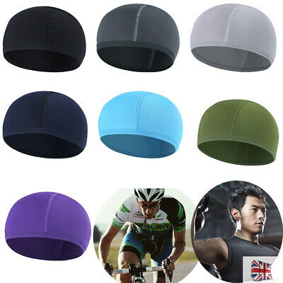 Quick Drying Motorcycle Helmet Liner Cycling Skull Cap Breathable Sports Sun Hat