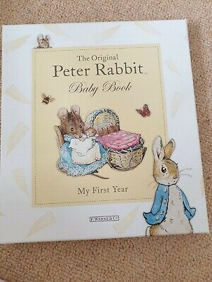 My first year baby book peter rabbit
