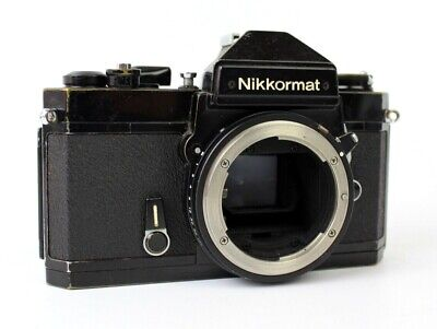 Nikon Nikkormat FT3 Black 35mm Film SLR Camera Body Only ***FREE P&P***