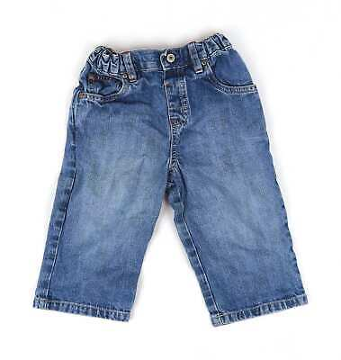 Marks & Spencer Baby Boys Blue Jeans Age 12-18m