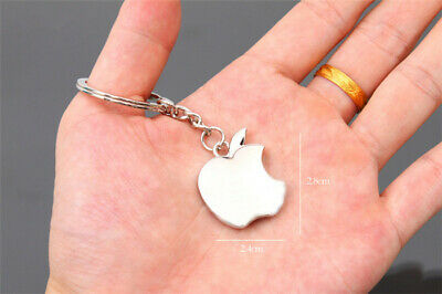 APPLE Logo Metal Key Ring Fob Chain