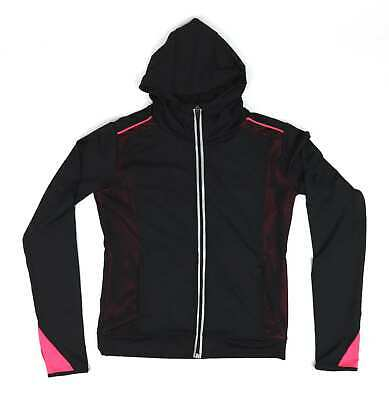 Young Dimension Girls Black Tracksuit Top Age 12-13