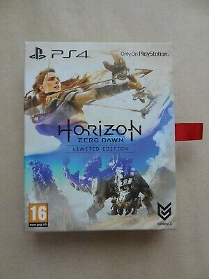 Horizon Zero Dawn Limited Edition * New & Sealed * Playstation 4 * Free P&P