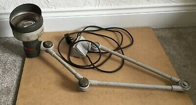 E.D.L Industrial Anglepoise Bench Lamp Pre-owned
