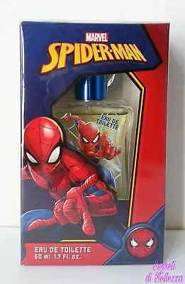 Profumo Spider-Man Marvel Eau De Toilette 50 Ml Natural Spray