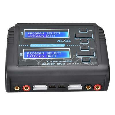 Remote Control Car/Aircraft RC Lipo Battery Charger Accessory for HTRC C240 DUO