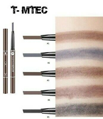 Fashion Brow Double Ended Eyebrow Pencil, Brow Brush, Waterproof Long Lasting