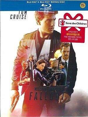 Mission: Impossible: Fallout U'Mania Selective Ltd. SteelBook; Region Free Korea